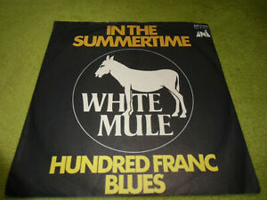"""7""""Single* White Mule - In The Summertime *SEHR GUT* TOP PROG*ROCK"""