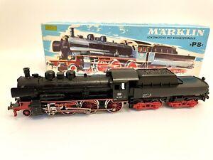 Märklin HO 3098 BR 38 1807 Schlepptenderlokomotive in OVP topp - Lokomotive