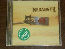 MEGADETH Risk CD NEUF