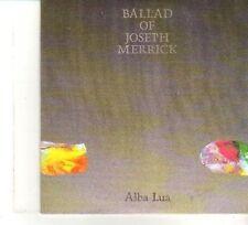 (DW303) Ballad of Joseph Merrick, Alba Lua - 2010 DJ CD