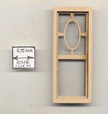 Window - Prairie Oval  - 2181N wooden dollhouse miniature 1:12 scale USA made