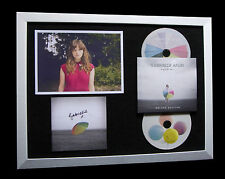 GABRIELLE APLIN+SIGNED+FRAMED+RAIN+POWER OF LOVE=100% GENUINE+FAST GLOBAL SHIP!