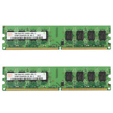 Hynix 4GB 2x 2GB 2Rx8 PC2-6400U-666-12 240Pin HYMP125U64CP8-S6 For Intel CPU RAM