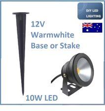 LED Outdoor 10W 12V DC Stake Garden Tree Spot Light Warm white
