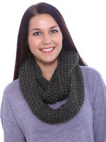 Women's Soft Long Winter Scarf Warm Circle Infinity Scarves Shawl