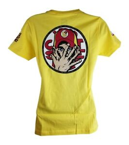 John Cena 2014 Yellow WWE Authentic Womens t-shirt