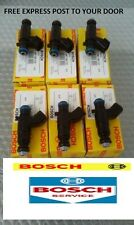 1 SETS COMMODORE VZ VE V6 3.6L ALLOYTEC GENUINE BOSCH FUEL INJECTORS 0280156131