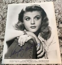 Stunning Angela Lansbury Autograph SIGNED 8x10 PHOTO GA COA