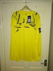 Everton goalkeeper Shirt bnwt size xxl men's long sleeve