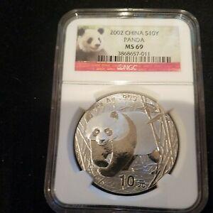 2002 China Panda MS'69