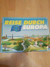 Reise Durch Europa,Brettspiel,Schmidt Spiele, gebraucht