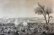 Bataille d' Héliopolis 1800  Napoléon Bonaparte Révolution 1850 Kleber