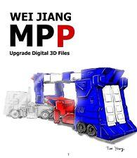 STL file for Transformers Weijiang MPP-10 upgrade please read item description