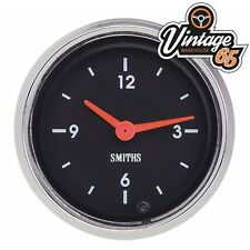 Classic Car Smiths 52mm Dashboard Analogue Time Clock 12v Oe Style MG Mini TR6