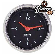 AUTO d'epoca smiths 52 mm CRUSCOTTO analogico Time Clock 12 V OE Stile MG Mini TR6