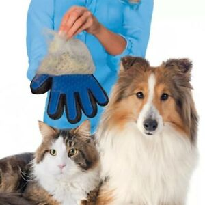 NEW True Touch deShedding Glove for Gentle and Efficient Pet Grooming Tuo11124