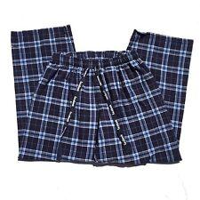 Facebook Mens Flannel Lounge Pants Size L American Apparel Pajamas Rare Vntg
