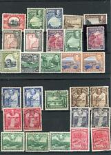 British Commonwealth Various Mint & Used Stamps on 12 Stock Cards, LOOK!