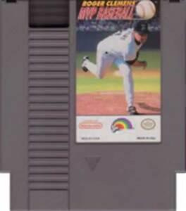 Roger Clemens Mvp Baseball - NES Nintendo Game
