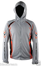SAVAGE GEAR SUNPROTEC SUN PROTECTION ZIP HOODIE SWEAT LURE FISHING PIKE ZANDER