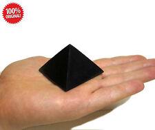 Shungite Schungit Polished Pyramid 40mm elite crystal minerals labradorite