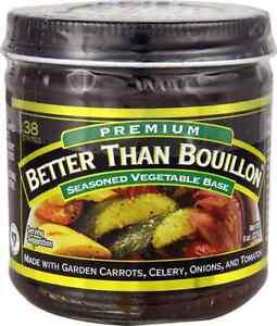 Better Than Bouillon Seasoned Vegetable Base -- 8 oz