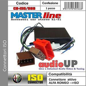 CONNETTORE PER AUTO CON SISTEMA AMPLIFICATO BOSE SYSTEM ALFA MITO 2008 IN POI