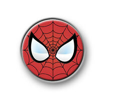 SPIDERMAN / 1�€ / 25mm pin button / badge / Marvel / Avengers / Iron Man / Hulk