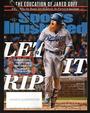 2017 Sports Illustrated Los Angeles Dodgers Justin Turner Subs. Issue NR/Mint