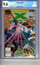 X Factor Annual 5 9.6 CGC W/P 'App...Ahab...FF...New mutants' Pin Up Posters