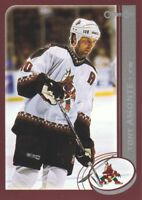 2002-03 O-Pee-Chee OPC Hockey Cards Pick From List
