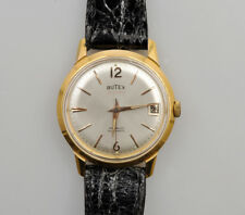 Butex vintage 1958/63 gold automatic 35mm exc+++ keeps time
