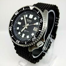 VINTAGE SEIKO SUBMARINER 6105 Dial & Hands Modded 7002 SCUBA DIVERS WATCH