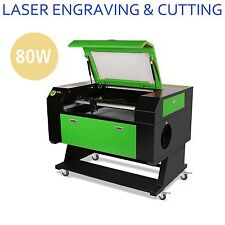 High Precise 80W USB Laser Engraving Cutting Machine Engraver Wood Metal Cutter
