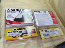 Frontline Plus Dog Value Pack Flea and Tick 89 thru 132 lbs - 8 Doses