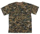 US Shirt Marpat Army USMC WOODLAND DIGITAL T-SHIRT SHIRT SMALL