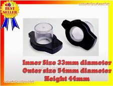 Security Bottle Hard Tag 10 Pcs Checkpoint® Compatible 8.2Mhz Black