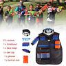 Taktisch Vest  Einsatzweste Kinder Kit für Nerf Gun N-Strike Elite Serie-Strike
