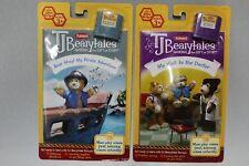 Playskool TJ Bearytales Book/Cartridge Set Pirate Adventure & First Doctor Visit