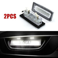 2X 18SMD LED License Plate Number Light Lamp Error Free For Benz Smart Fortwo PE