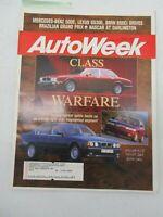 AUTO WEEK MAGAZINE APRIL 5, 1993 LEXUS GS300 BMW 850 CI MERCEDES BENZ 500E CAR