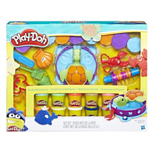 NEW PLAY-DOH OCEAN ADVENTURES Mega SET with 10 CANS of COLOR PLAYDOH & 20 TOOLS