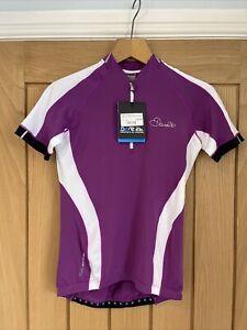 Dare 2b Womens Cycling Jersey Top Size 10 Purple Road Mountain RRP £55