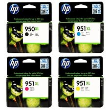 HP 950 XL, HP 951 XL, 4 Patronen,  MHD 2018/2019, OVP, kein Refil