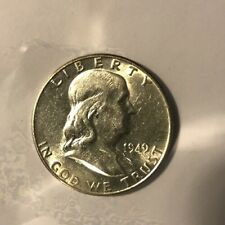 1949 Silver Franklin Half Dollar 50C