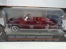 1:18 Highway61 1952 HUDSON HORNET Convertibile Rosso Scuro Rarità Nuovo / conf.