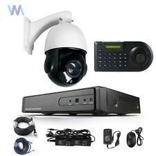 PTZ  5in1 CCTV 4CH  DVR 1200TVL IR-CUT Security Camera System Day/Night P2P
