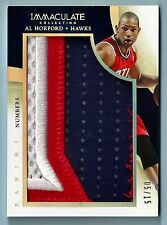 AL HORTON 2013/14 PANINI IMMACULATE NUMBERS GAME USED 3 COLOR PATCH /15
