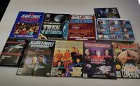 Star Trek The Next Generation, Books, Magazines, Cards Lot
