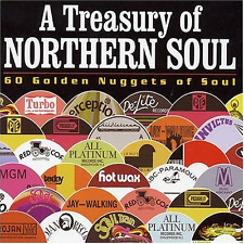 RARE CD'S A Treasury Of Northern Soul, Various Artists Box set Excellent